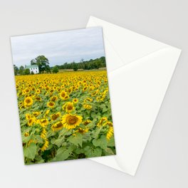 Field of Yellow Stationery Cards