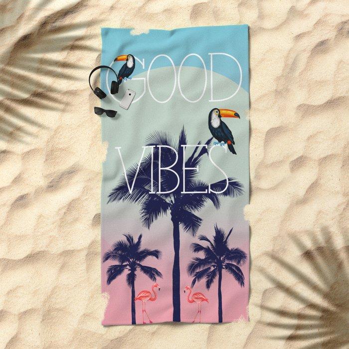 GOOD VIBe Beach Towel