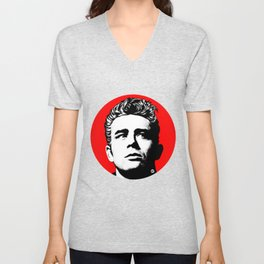 JamesDean01-1 Unisex V-Neck