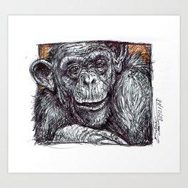 Bonobo Art Print