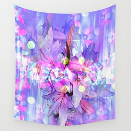 LILY IN LILAC AND LIGHT Wall Tapestry