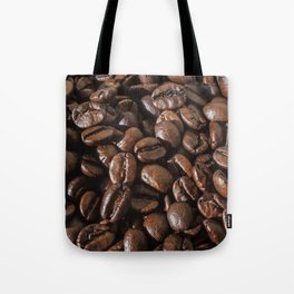 coffee bean macro II Tote Bag