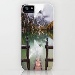 Autumn In The Dolomites iPhone Case