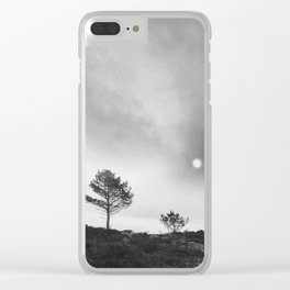 One two tree Clear iPhone Case