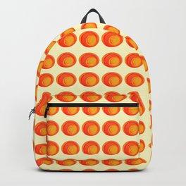 Orange Swirl Backpack