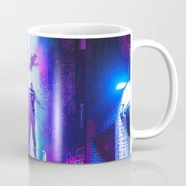Alien abduction in Miami Coffee Mug