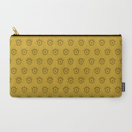 Lemon Curry Eye Carry-All Pouch