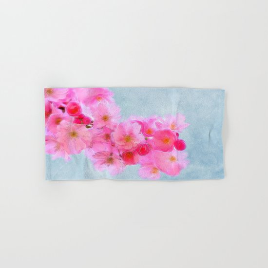 Cherry Blossom (in memory of Mackenzie) Hand & Bath Towel