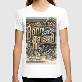 john mayer born raised tour 2020 ngamin T-shirt