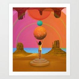 Sun bringer Art Print