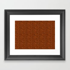 Delicious Chocolate Background Framed Art Print