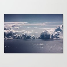 Cloud Formation Canvas Print