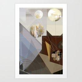 Looking Glass Kitchen Art Print
