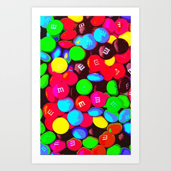CHOCOLATE CANDY - For IPhone Art Print