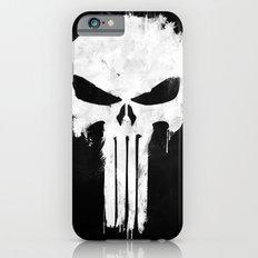 Punisher White iPhone 6 Slim Case