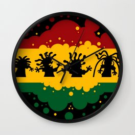 Rasta Contagion: Evolution! Wall Clock