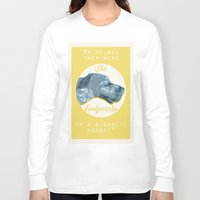 the hound Long Sleeve T-shirts featuring HOUND. by LiseRichardson