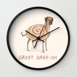Great Dane-ish Wall Clock