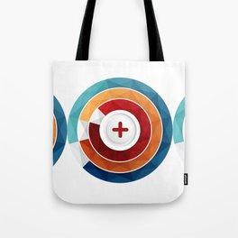 Geometric Modern Digital Abstracr Tote Bag