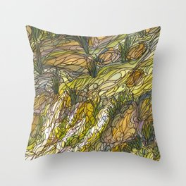 Eno River 19 Throw Pillow