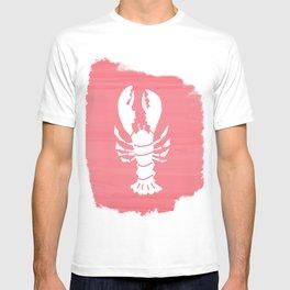 Block Print Lobster T-shirt