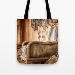 Decaying Blink of an Eye Tote Bag