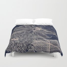 ..you will connect the dots eventually. Duvet Cover