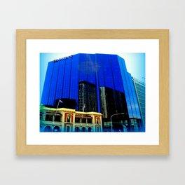 Reflections - Adelaide CBD Framed Art Print
