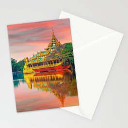 Yangon, Myanmar #society6 #decor #buyart Stationery Cards