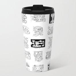 Thirty Five Dungeon Maps Metal Travel Mug