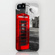 Red Telephone Box at Windsor Castle Slim Case iPhone (5, 5s)