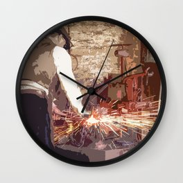 The Forge Wall Clock