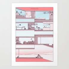 Sunday Art Print