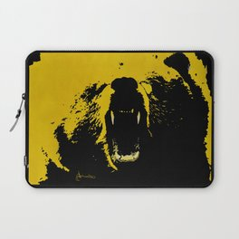 "TygerB.com ""Heated Grizzle"" Painting Laptop Sleeve"