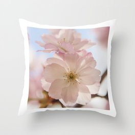 Sping blossom Throw Pillow