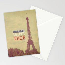 Dreams Do Come True Stationery Cards
