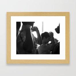 Backstage 3 Framed Art Print