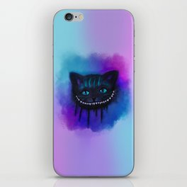 Cheshire Cat Watercolor iPhone Skin