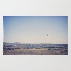 in the distance::denver Rug