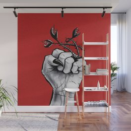 Witch Hand Black Nails Monster Ring Wall Mural
