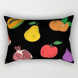 Fruit Illustration Rectangular Pillow