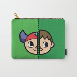 Old & New Animal Crossing Villager Comparison Carry-All Pouch