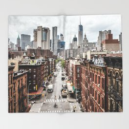 New york City USA Throw Blanket