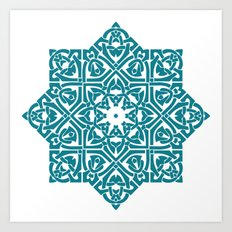 Celtic Knotwork Pattern Art Print
