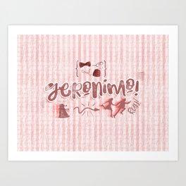 Geronimo! II Art Print