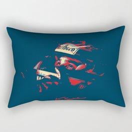 Ayrton Senna Tribute Design Rectangular Pillow