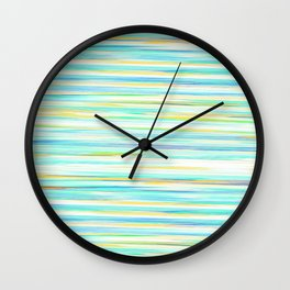 glitch_abstract Wall Clock