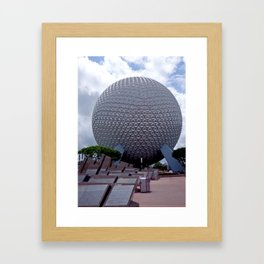 EPCOT: Spaceship Earth Framed Art Print