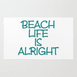 Beach Life is Alright Rug