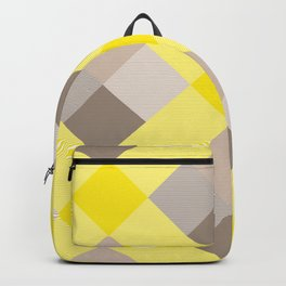 Geometrical Square Abstraction 26 Backpack